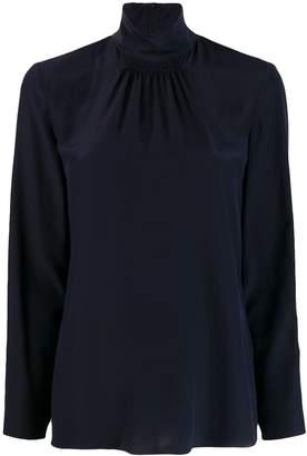 RED Valentino gathered detail turtleneck blouse