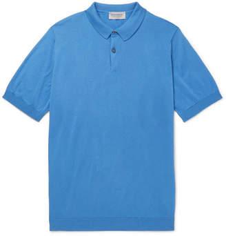 John Smedley Rhodes Sea Island Cotton Polo Shirt