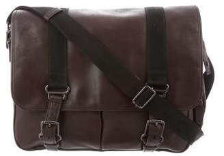 Ralph Lauren Leather Messenger Bag