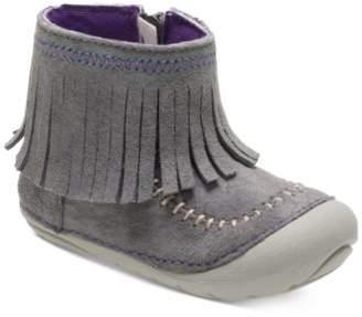 Stride Rite Soft Motion Tasha Fringed Boots, Baby Girls & Toddler Girls