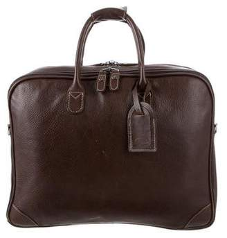 Bric's Textured Leather Briefcase