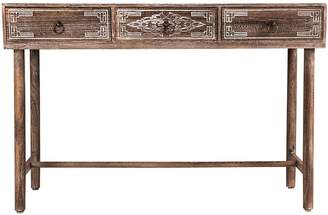 High St. Console Tables Lorette Carved Console Table