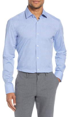BOSS Slim Fit Check Dress Shirt