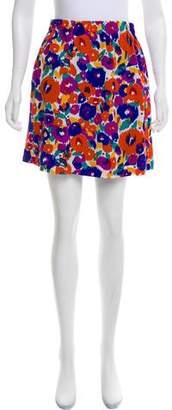 See by Chloe Silk Printed Skirt