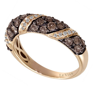 Le Vian 14CT Strawberry Gold One Carat Diamond Ring