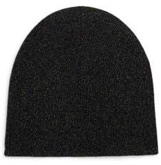 Saks Fifth Avenue COLLECTION Metallic Cashmere Toque