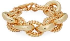Kenneth Jay Lane Link Toggle Bracelet