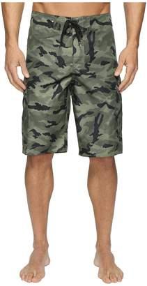 Quiksilver Manic Camo 22 Boardshorts Men's Swimwear