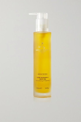 Aromatherapy Associates Renewing Rose Massage & Body Oil, 100ml - Colorless