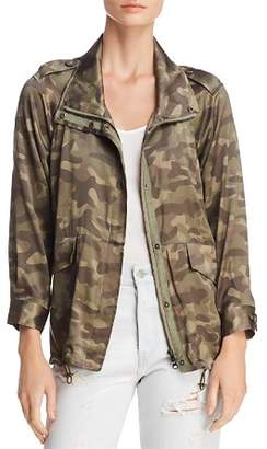 CAMI NYC Quinn Silk Camouflage Jacket