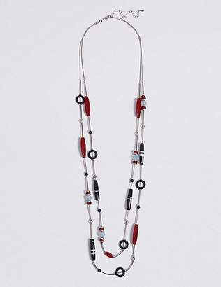 Marks and Spencer Hoop Double Layered Necklace