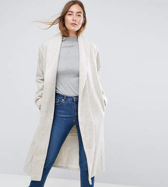 Asos Tall TALL Shawl Collar Belted Coat