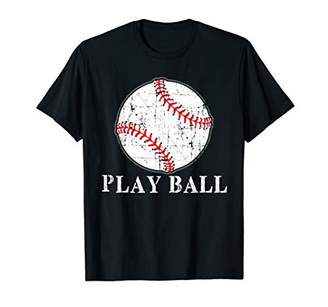 Baseball Funny Play ball Shirt T-Shirt