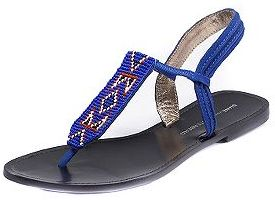 Diana Sandals in Black or Indigo