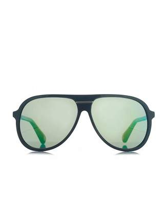 Marc Jacobs Eyewear Round Mirrored Aviators