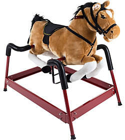 Happy Trails Spring Rocking Horse with Sounds