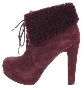 Pour La Victoire Aileen Suede Boots $75 thestylecure.com