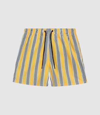 3fd3edcf0a7c6 Reiss Brooks - Striped Swim Shorts in Yellow