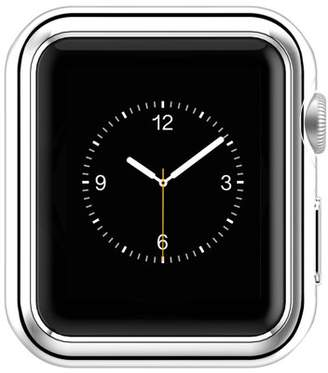 TPU Beautytale Super Thin Plated Plating Protective Bumper Case Cover for iWatch Series 2 38MM (Silver)