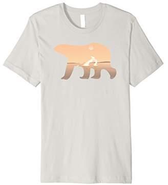 Polar Bear Graphic T-Shirt for Polar Bears Fans