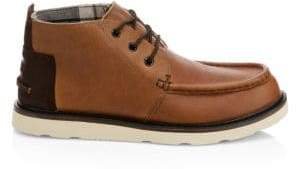 Toms Moc Toe Leather Chukka Boots