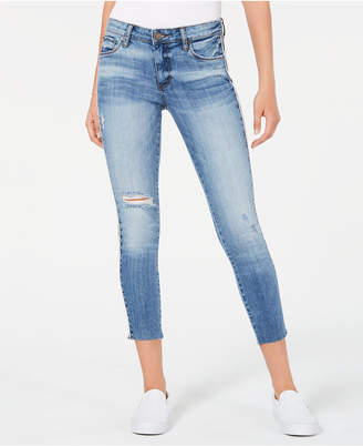 STS Blue Emma Cropped Side-Stripe Skinny Jeans