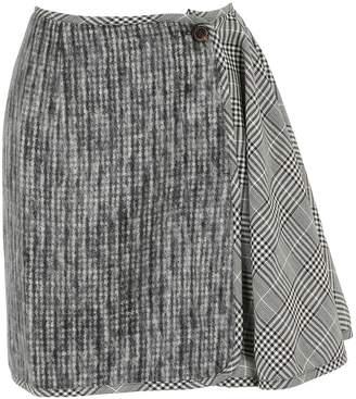 Aalto Short skirt with ruffles