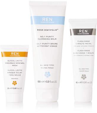 Ren Skincare Ren Pure Glow Trio - Colorless