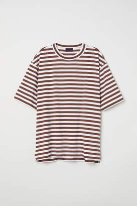 H&M Striped T-shirt - Beige