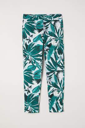 H&M Patterned Slacks - Green