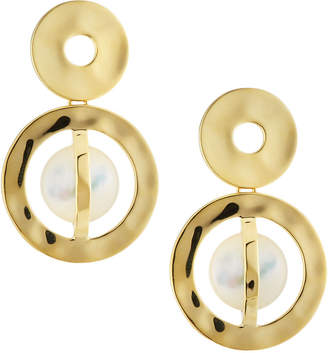 Ippolita 18K Senso Snowman Earrings in Mother-of-Pearl