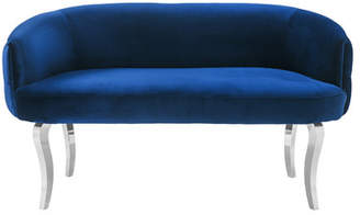Willa Arlo Interiors Eloi Velvet Loveseat