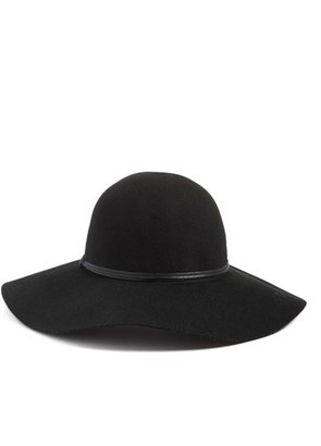 Hinge Floppy Wool Hat $39 thestylecure.com