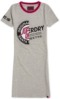 Superdry Cruise Cotton Bodycon T-Shirt Dress