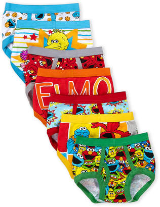 Sesame Street Toddler Boys) 7-Pack Printed Briefs