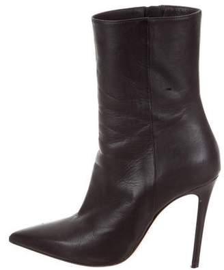 Aperlaï Pointed-Toe Mid-Calf Boots