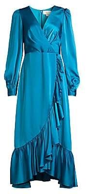 Sachin + Babi Women's Ruby Ruffled Faux-Wrap Dress - Size 0