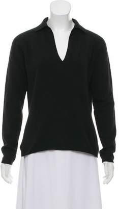 Loro Piana Cashmere Collared Sweater