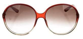 Balenciaga Oversize Logo Sunglasses