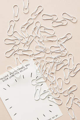 Poppin White Paper Clip Set
