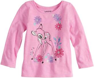 Disneyjumping Beans Disney's Bambi Baby Girl Long Sleeve Tee by Jumping Beans