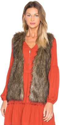 BB Dakota Jack By BB Dakota Belding Faux Fur Vest $61 thestylecure.com