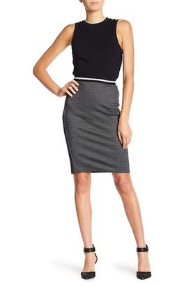 Joe Fresh Jacquard Pencil Skirt