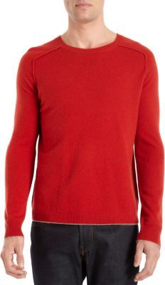 Inhabit Saddle Shoulder Crewneck Sweater