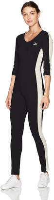 Puma Women's T7 Jumpsuit, Black, L