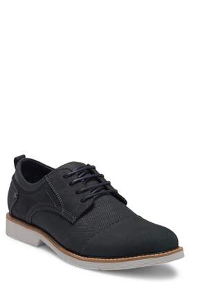 Steve Madden Shook Suede Cap Toe Derby