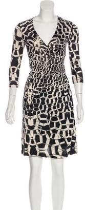 Diane Kordas Diane von Furstenberg Printed Silk Dress