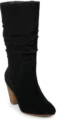 Sonoma Goods For Life SONOMA Goods for Life Sketch Women's Suede Slouch Boots