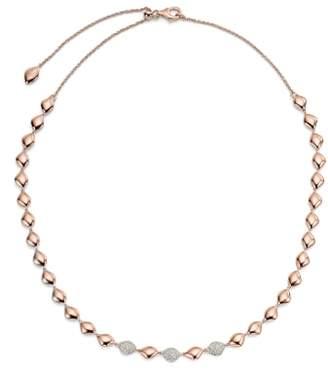Monica Vinader Nura Diamond Collar Necklace