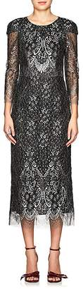 J. Mendel Women's Baroque Metallic Lace Gown